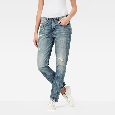 Picture of Midge Saddle Boyfriend Jeans